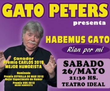 habemus gato #gatopeters en Venado Tuerto