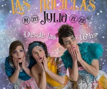 las triciclas #compañíateatralymusical  en Venado Tuerto