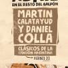 martín calatayud y daniel colla en Venado Tuerto
