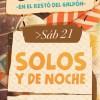 solos y de noche #rock en Venado Tuerto