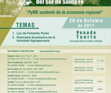 xvi jornada de prof. en cs. económica del sur de santa fe en Venado Tuerto